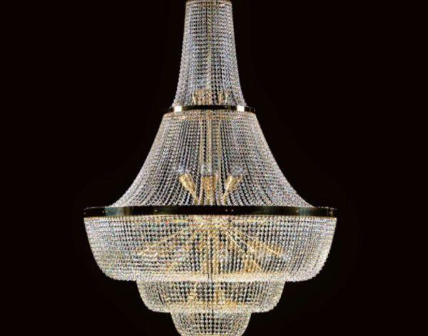 3 mẫu đèn lồng pha lê Tiệp Khắc hot nhất năm 2018