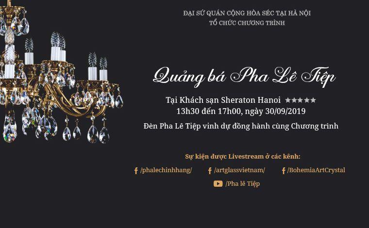 """Chương trình """"Quảng bá Pha Lê Tiệp"""" lần đầu tiên được tổ chức tại Việt Nam"""