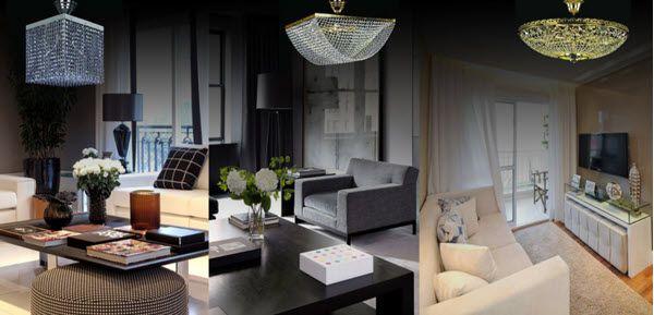 Cách chọn đèn chùm pha lê hiện đại cho căn hộ chung cư cao cấp