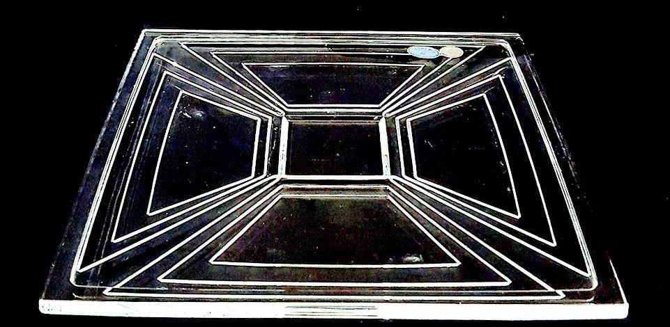 Đĩa pha lê cao cấp 3 chiều 33cm