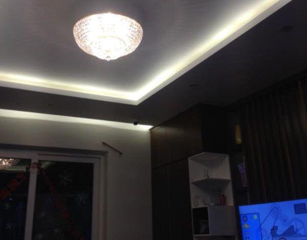 Lắp đặt đèn pha lê cho căn hộ chung cư CT1 Vimeco – Hà Nội