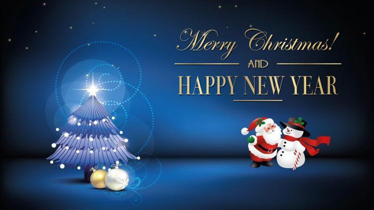 Đèn Pha Lê chúc mừng Giáng Sinh và năm mới 2019