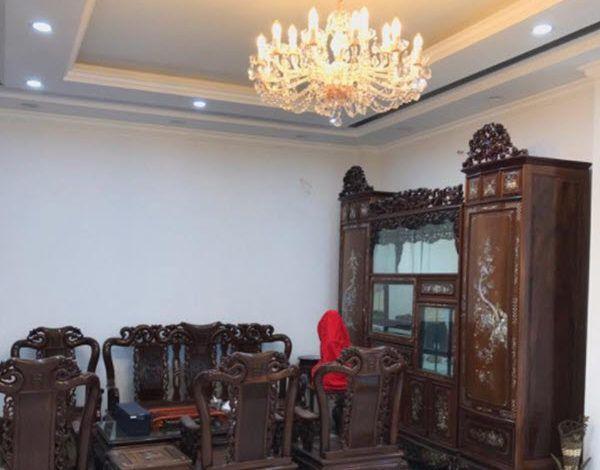 Thi công đèn chùm cho căn hộ chung cư Dương Nội, Hà Đông